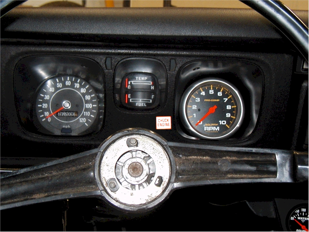 510 3 38  autometer tach    install